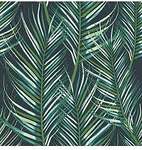 Superfresco Easy Palm Leaves Green Wallpaper