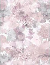 Superfresco Easy Summer Garden Pink Wallpaper