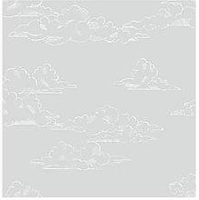 Superfresco Easy Vintage Clouds Grey Wallpaper,