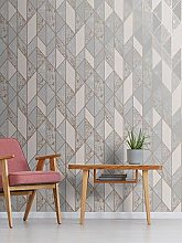 Superfresco Milan Geo Wallpaper &Ndash; Rose Gold