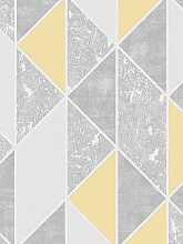 Superfresco Milan Geo Wallpaper &Ndash; Yellow