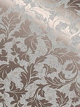 Superfresco Milan Scroll Wallpaper &Ndash; Rose