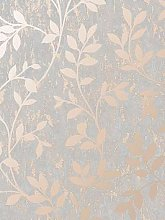 Superfresco Milan Trail Wallpaper &Ndash; Rose Gold