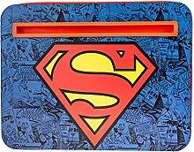Superman Laptop Lap Desk, Compact Portable Work