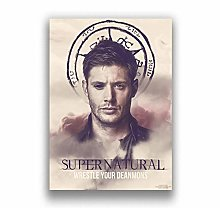 Supernatural Poster Art Home Decor Bedroom Living