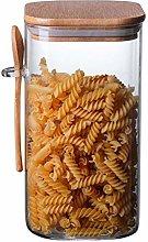 supertop 1500ml Glass Food Spice Jar Clear Glass