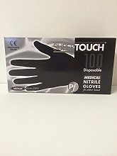 SuperTouch 100 Strong Size MEDIUM Nitrile Black