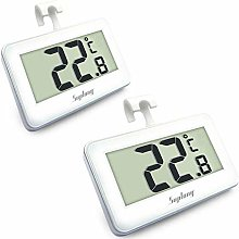 Suplong 2 Sets Fridge Thermometer Digital