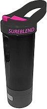 Sureblend Pink Motorised Blender Shaker Bottle