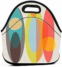 Surf Insulated Lunch Bag Tote Picnic Box Cooler