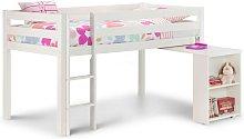Surf White Children'S Cabin Bed With Desk -