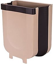 surfsexy Wall Mounted Trash Can Folding Waste Bin
