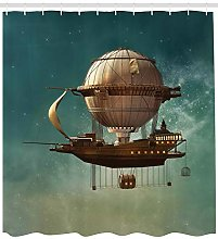Surreal space landscape High-definition printed