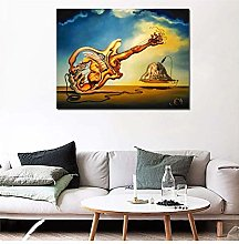 Surrealist Works of Salvador Dali Canvas Painting