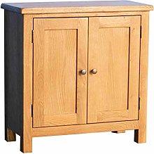 Surrey Oak Small Cupboard   Traditional Rustic