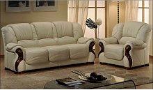 Susanna Italian Leather Sofa Settee