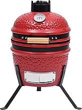 Susany 2-in-1 Kamado Barbecue Grill BBQ Grill