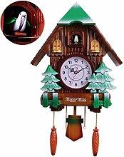 SUSHOP Antique Wooden Cuckoo Clock, Living Room