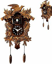 SUSHOP Cuckoo Clock Traditional Black Forest