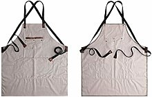 SUSHOP Work Apron for Men Women, Multipurpose