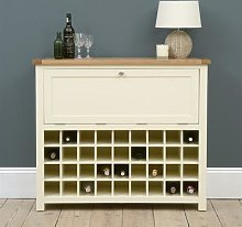 Sussex Cotswold Cream Drinks Cabinet