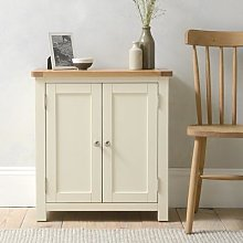 Sussex Cotswold Cream Small Cupboard