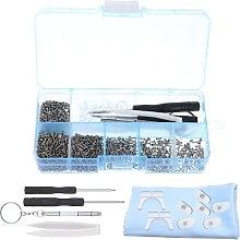 SUSSURRO 500 Pcs Sunglass Repair Tool Kit Set- Ear