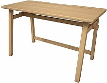 Sustainable Real Rubber Wood Computer Desk for