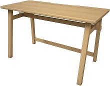 Sustainable Rubber Wood Computer Desk for Home and