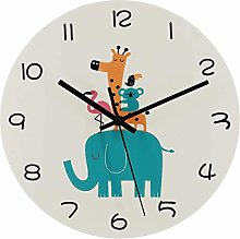 Suszian Wall Clock,Wall Clock with Animal World