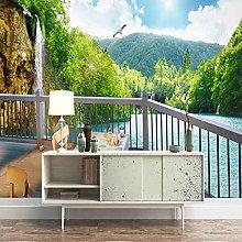 SUUKLI Photo Wallpaper 350X256Cm Balcony with