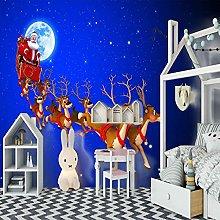 SUUKLI Photo Wallpaper 350X256Cm Christmas Snow