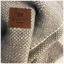 Suuky - SUUKY COTTON/WOOL GREEN BLANKET