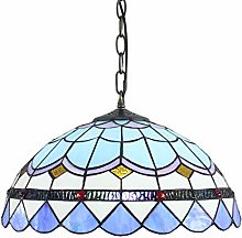 SUYING Tiffany Style Chandelier Lampshade Lighting
