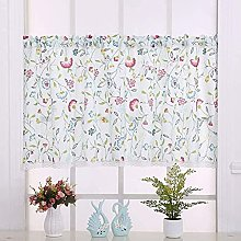 Suytan Cafe Curtains Printed 1Pcs Small Kitchen