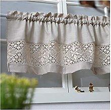Suytan Coffee Curtain, Kitchen Curtain Dustproof
