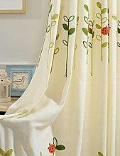 Suytan Fabric Curtain, Curtain Nursery Girl Opaque