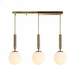 Suytan Modern 3-Light Lighting Fixture,E27 Golden