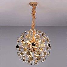 Suytan Nordic Crystal Chandelier Lighting Simple