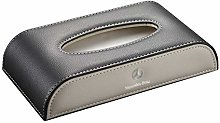 Suytan Seat Car Tissue Holder, Black with Beige