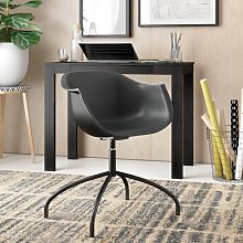 Suzanne Office Chair Zipcode Design Colour: Black