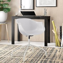 Suzanne Office Chair Zipcode Design Colour: White