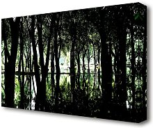 Swamp Forest Forest Canvas Print Wall Art East