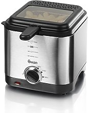 Swan 1.5 litre Stainless Steel Fryer with Viewing