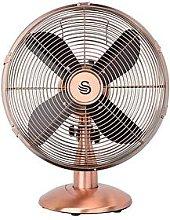 Swan 12 Inch Copper Desk Fan