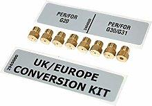 Swan All Gas 50cm Twin Cavity LPG Conversion Kit