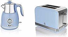 Swan Blue Kitchen Appliance Retro 1.5L 3kW Kettle