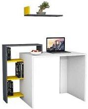 Swan Desk - with Shelves - for Office, Bedroom -