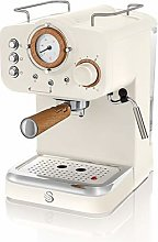 Swan Espresso Machine, 15 bar Pressure, Milk