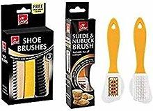 Swan household  ® - Set of 2 Shoe Brush Kit -